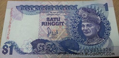 Koleksi Gambar Duit Malaysia Lama  AkuAnakLabuan