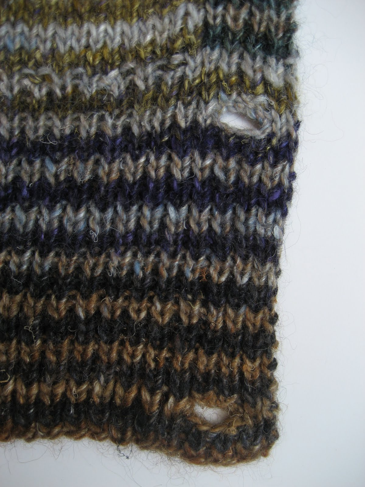 Invisible Cast Ribbing