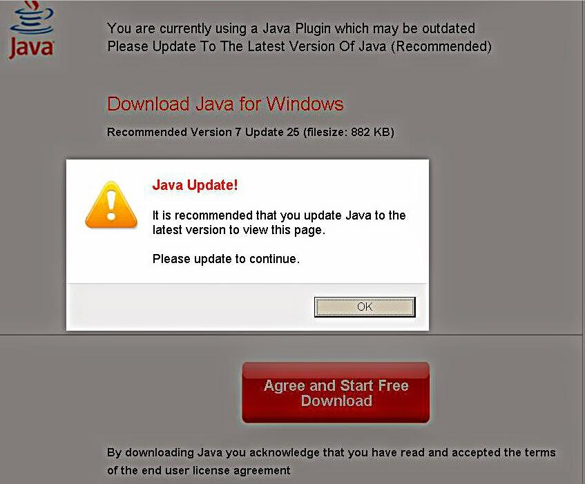 Computer Virus Hunter: How to Get Rid of Fake Java update redirects