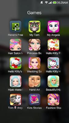 Ini beberapa games anak pada smartphone