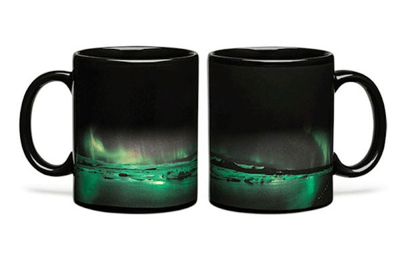 Aurora Borealis Mug Puts On Light Show When Filled With Hot Coffee