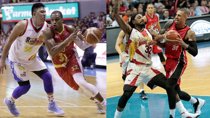 San Miguel vs Alaska and Ginebra vs. Rain or Shine in the 2018 PBA Commissioner's Cup Semi-Finals.