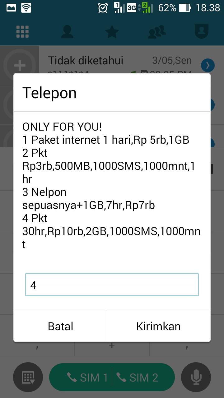 Paket Internet Indosat Murah 2gb 10rb Gratis 1000 Sms Dan 1000 Menit Nelpon Nanda Hero