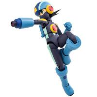 Mega Man Exe in posa dinamica
