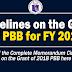 Grant of 2018 Performance-Based Bonus (PBB)