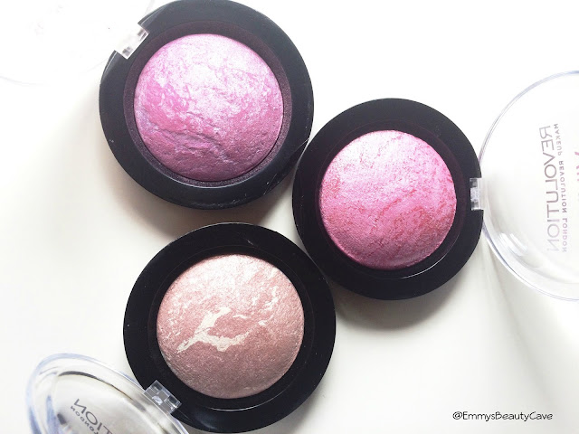 Makeup Revolution Baked Blushers
