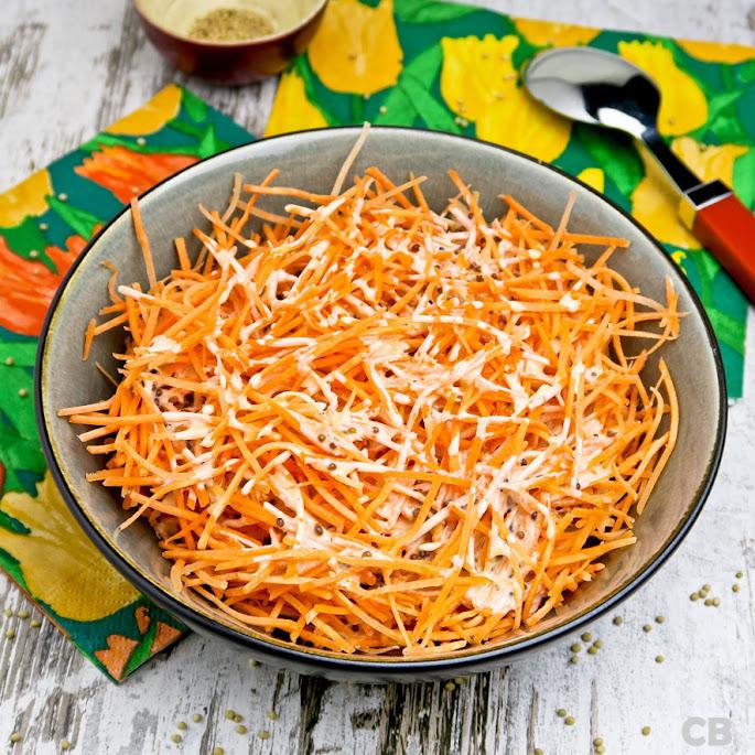 Recept Vrolijke oranje wortelsalade voor Koningsdag