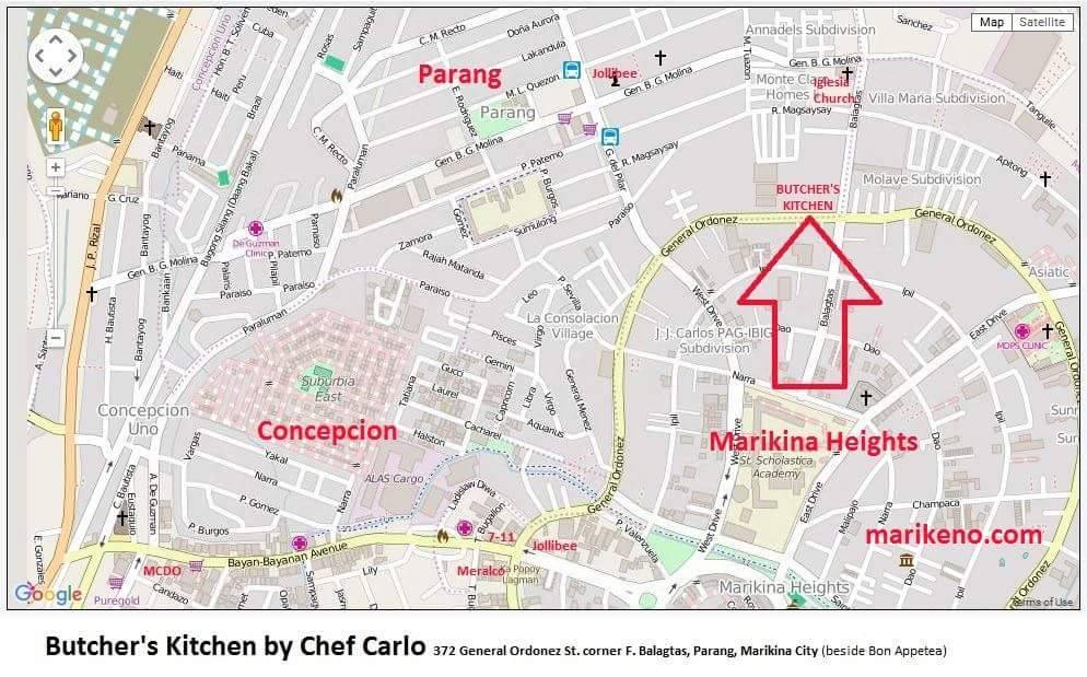 Butcher's Kitchen by Chef Carlo ~ Marike?o