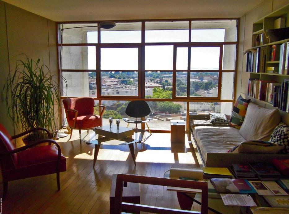 Home garden la cit radieuse - Appartement le corbusier ...