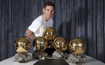 El talentoso Lionel Messi