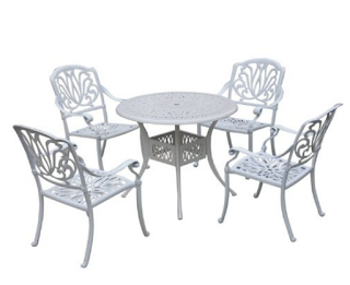 Outsunny 5 Pc Antique Outdoor Bistro Set