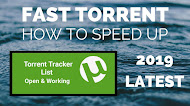 Torrent Tracker List to Increase Download Speed