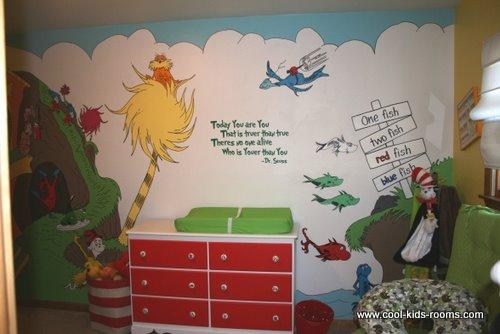 Styled Design Themed Nursery Dr Seuss