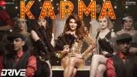 Karma - Drive lyrics in English | Hindi | Amartya Bobo Rahut, Sukriti Kakar | Drive | Sushant Singh Rajput, Jacqueline Fernandez