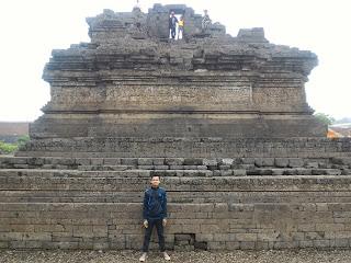 Gustian Ri'pi, Candi Jago, Tumpang, Malang
