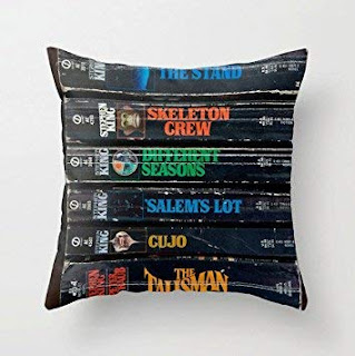 Stephen King Book Cushion Cover, Stephen king Home Accessories, Stephen King Store