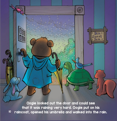 Oogie's Rainy Day Adventure - a bookwrap