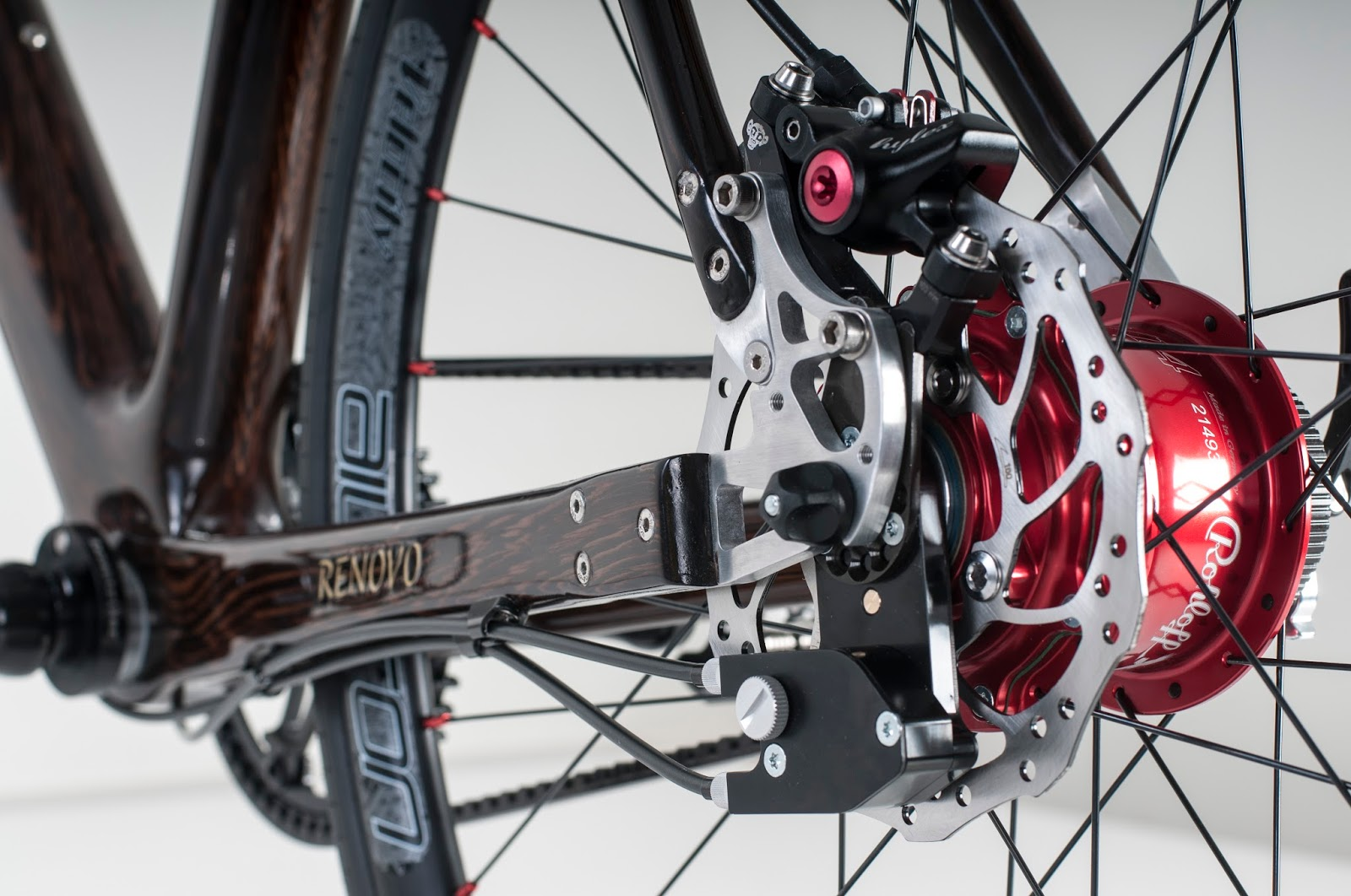 The Monkey Lab Renovo Wood Commuting Light Touring Bike