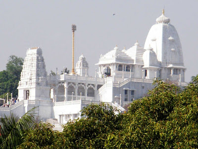 Birla Mandir in Hyderabad District in Telangana