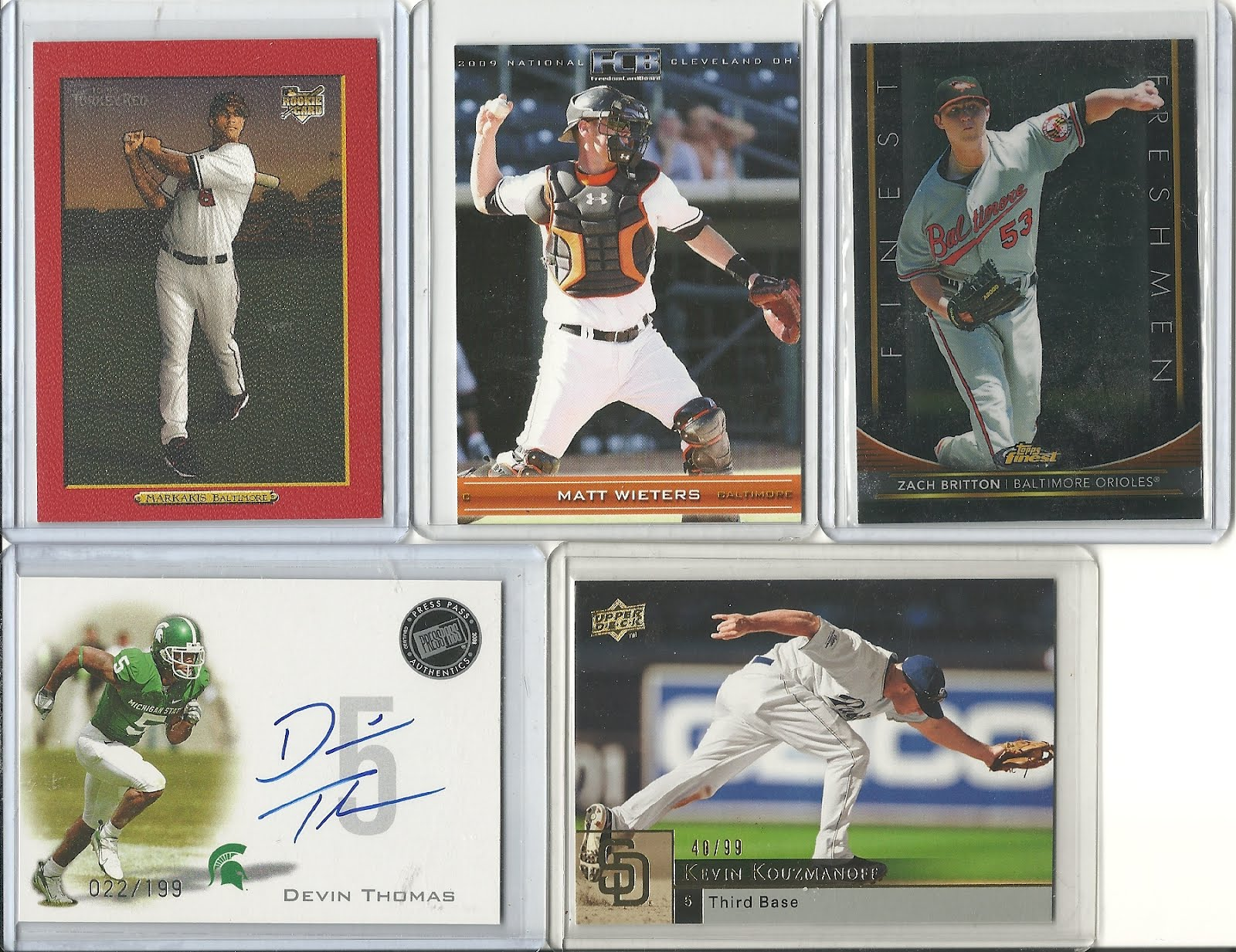Cards For Trade Cards Of Future Fenway Stars