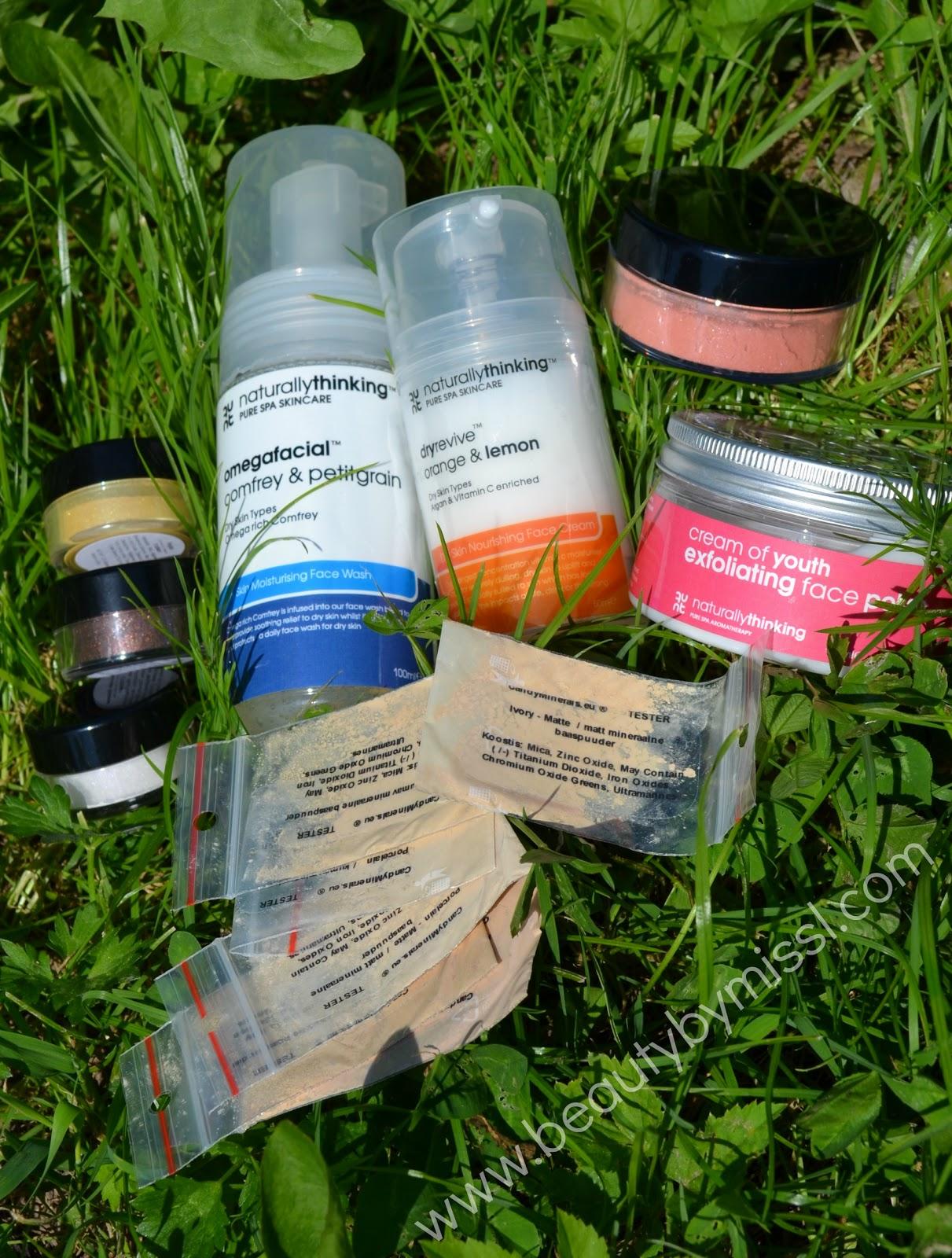 natural beauty products, looduslikud ilutooted