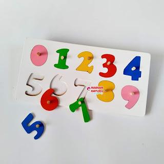 Puzzle Knop Angka