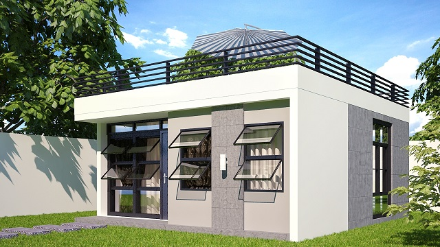 More than 80 pictures of beautiful houses with roof deck for Simple roof design house plans