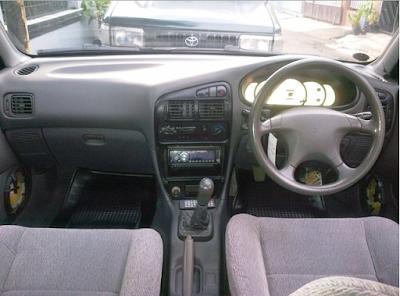Interior Mitsubishi Evo 3