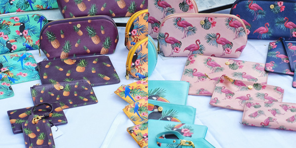 Limited edition leather goods accessorises - Havana Days pool party Launch Event - Photographed by Kent Johnson for Street Fashion Sydney