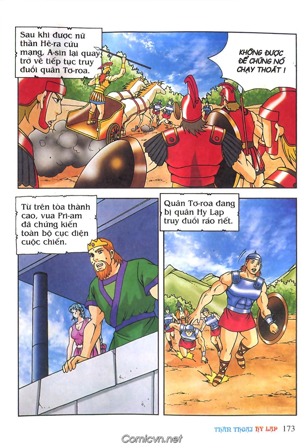 Thần Thoại Hy Lạp Màu - Chapter 61: So tài của hai vị tướng - Pic 2