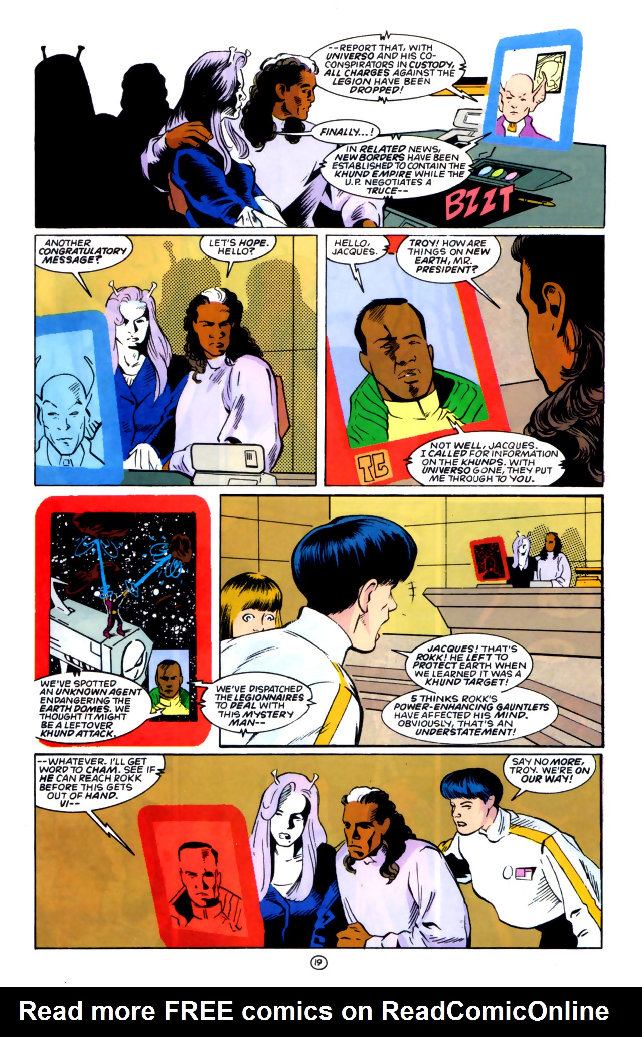 Legion of Super-Heroes (1989) 59 Page 19