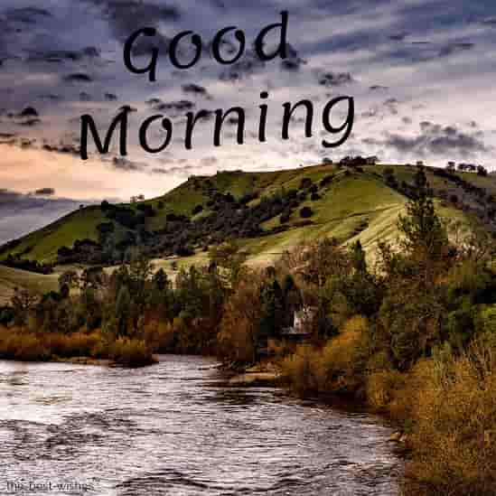 good morning beautiful nature image