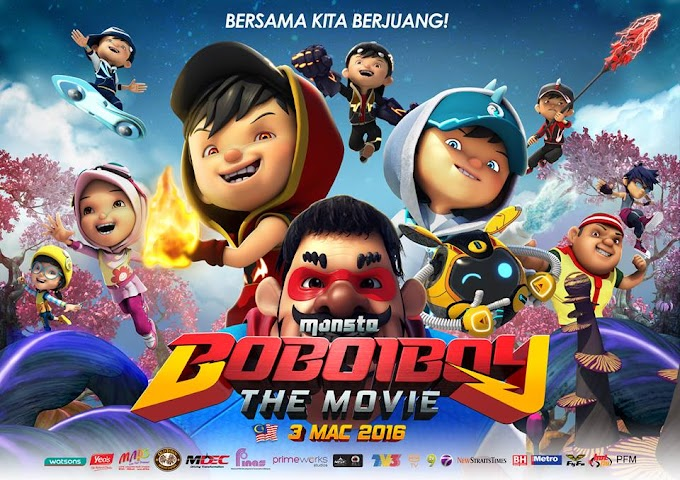 Pengalaman anak2 1st time tengok movie :: BOBOIBOY THE MOVIE