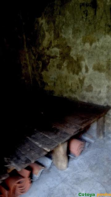 Zona habilitada para dormir en el refugio de Pantivalles