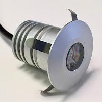 lelide illuminazione led torino faretto led ip65 da incasso luxè flangia tonda