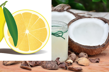 Turn Your Gray Hair Back to Its Natural Color With This Coconut Oil and Lemon Mixture