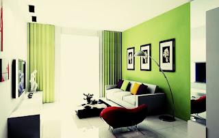 Guest room design fresh and elegant Modern