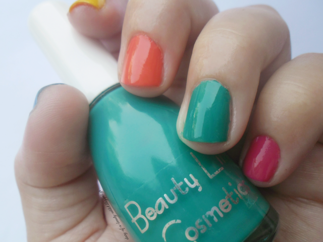 Beauty Line Cosmetics Nail Polish 345