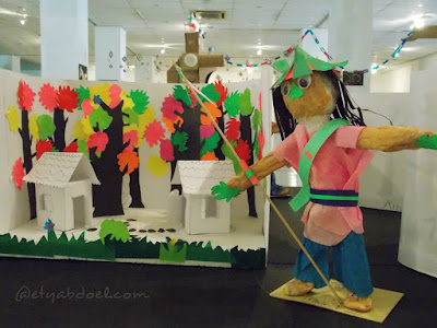 Prakarya dari bubur kertas (foto by etyabdoel.com)