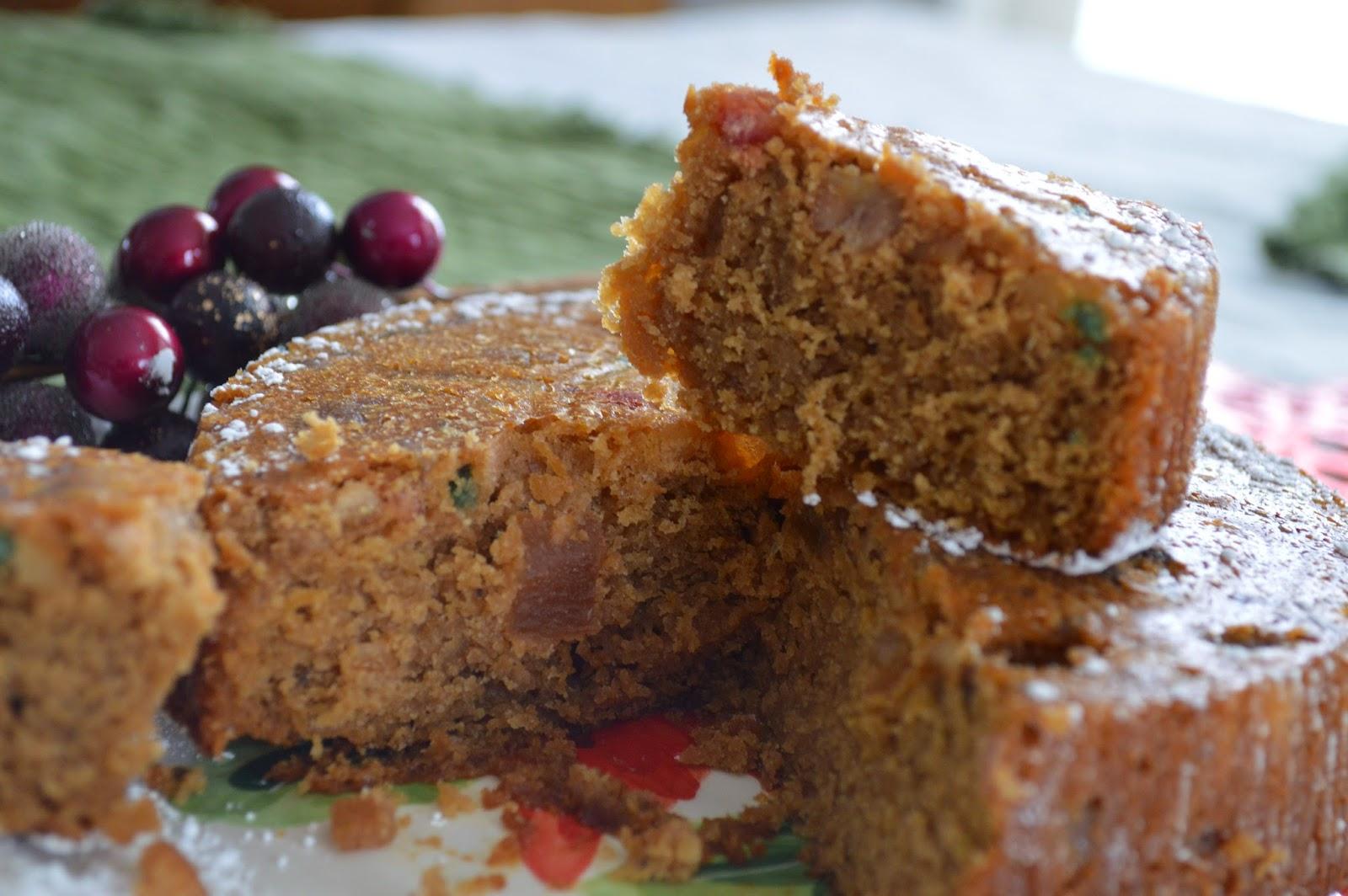 Christmas Fruit Cake Recipe With Brandy.Aviyal Kerala Plum Cake Rum Brandy Fruit Cake Step