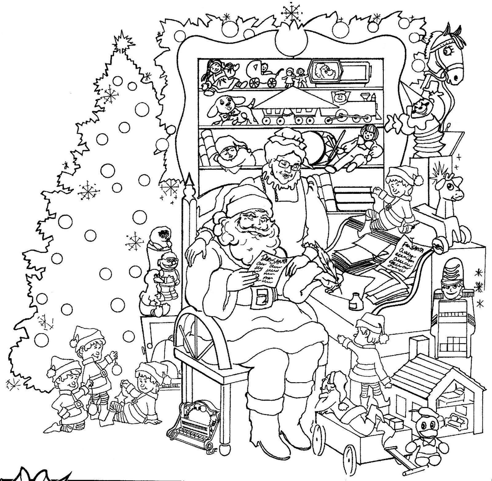 Christmas Hidden Pictures