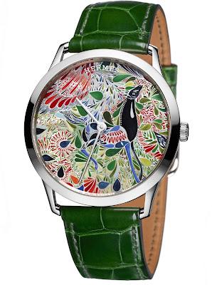 Hermès Slim d'Hermès Mille Fleurs du Mexique watch
