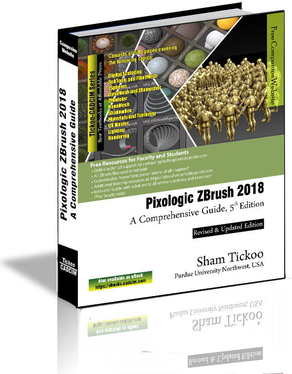 Pixologic ZBrush 2018: A Comprehensive Guide, 5th Edition | ZBrush