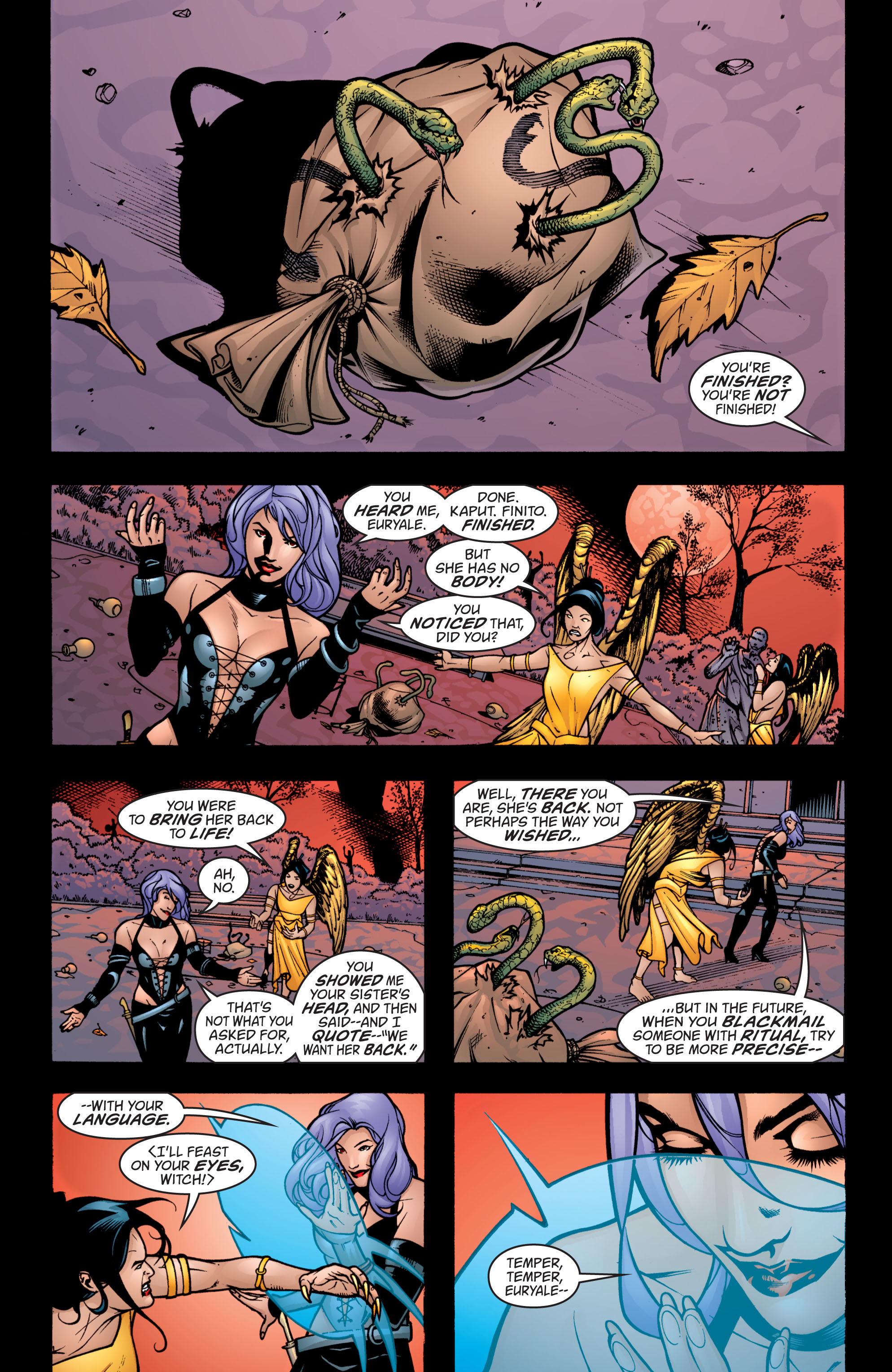 Read online Wonder Woman (1987) comic -  Issue #204 - 6