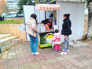 fast food, pizza, sweetcorn, yambol. sweetcorn stand, Ямбол,