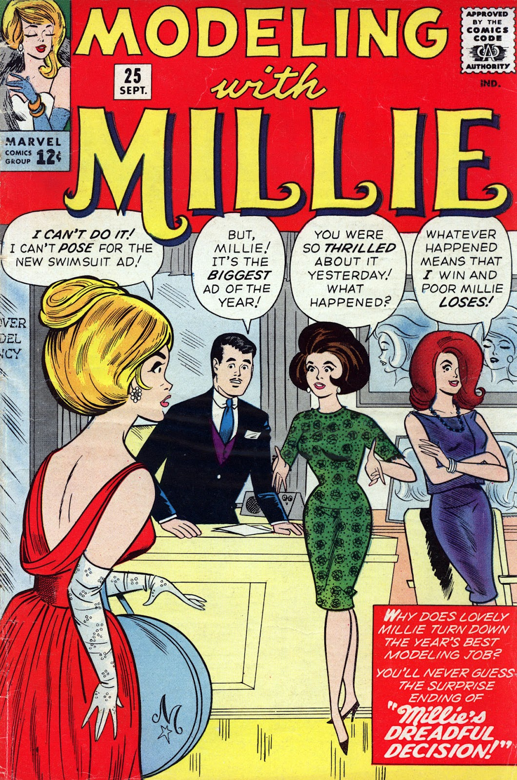 Modeling With Millie issue 25 - Page 1