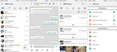 BBM Mod iPhone Apk v3.1.0.13 IoS Style Terbaru Full Version