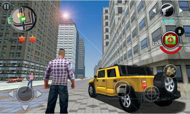 Download Grand Gangsters 3D Mod APK Unlimited Money