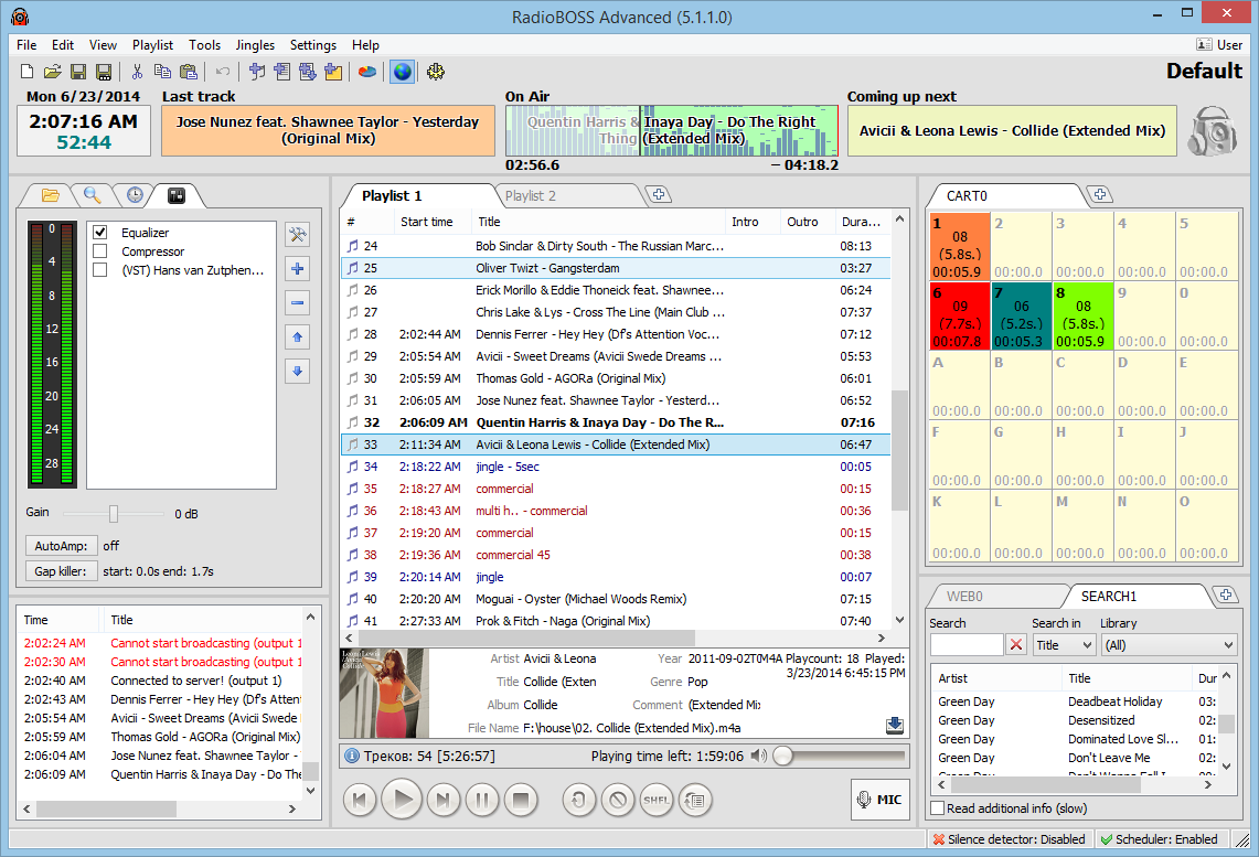 RadioBOSS 5.8.3.0