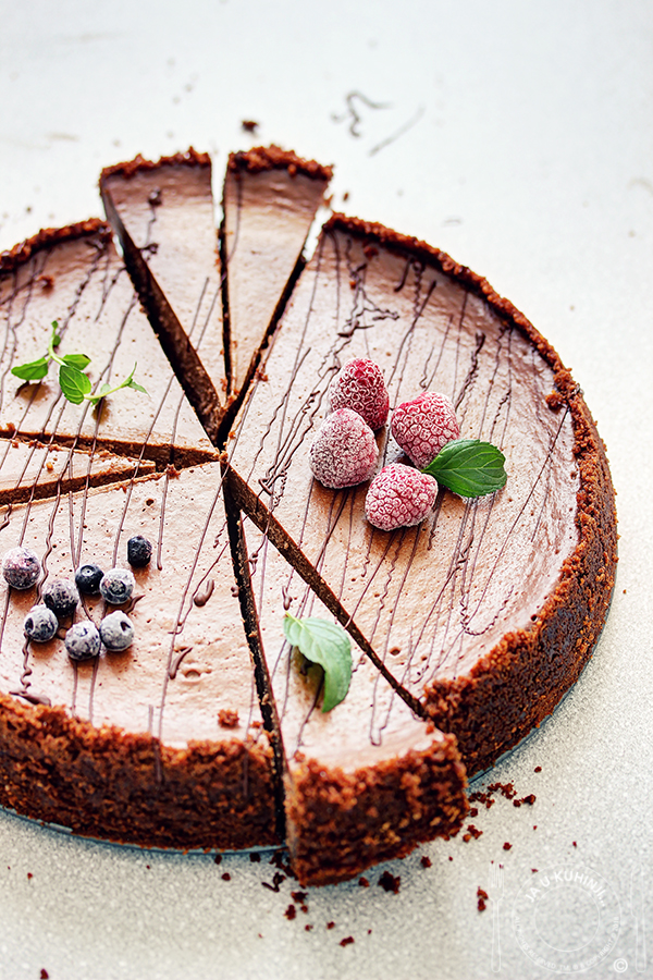 Čokoladni čiz kejk